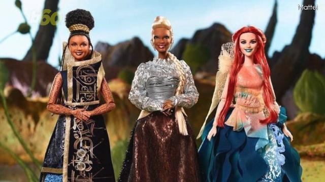 Katherine Johnson Mattel Barbie Doll Inspiring Women Series