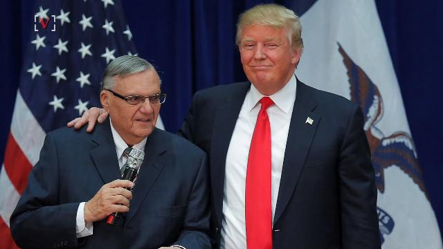 Joe Arpaio: I want to Support our President and his Agenda